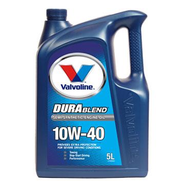 שמן מנוע 10W40 ולבוליין כמות במיכל: 5 ליטר DURA BLAND