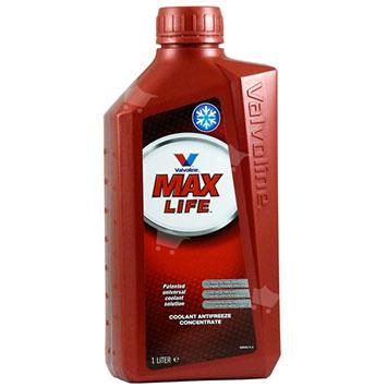 נוזל קירור אדום מרוכז VALVOLINE דגם MAX LIFE כמות 1 ליטר