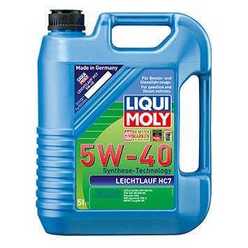 שמן מנוע 5W40 סינטטי מלא כמות במיכל: 5 ליטר LIQUI MOLY